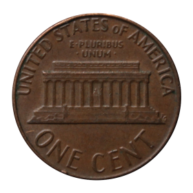 1 cent 1976 D USA st.III b