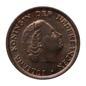 1 cent 1977 Holandia Juliana st.III+ b