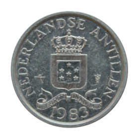 1 cent 1983 Antyle Holenderskie st.III+ a