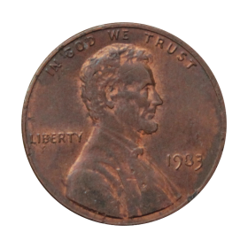 1 cent 1983 USA st.III a