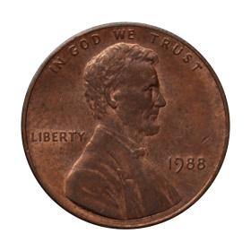 1 cent 1988 USA st.III a