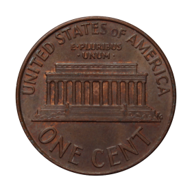 1 cent 1989 D USA st.III b