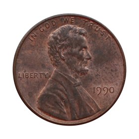 1 cent 1990 USA st.III a6