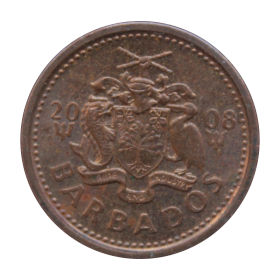 1 cent 2008 Barbados st.II- a