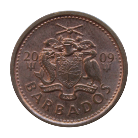 1 cent 2009 Barbados st.II a