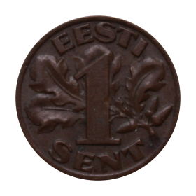 1 sent 1929 Estonia st.III a8