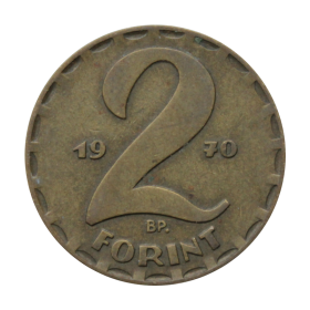 2 forinty 1970 Węgry st.III a