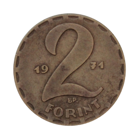 2 forinty 1971 Węgry st.I a