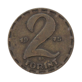2 forinty 1975 Węgry st.III a